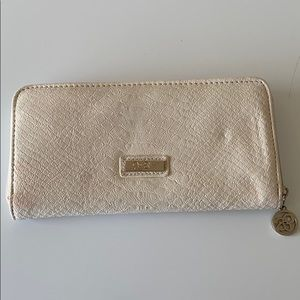 Jessica Simpson Snake Skin Zip Around Wallet